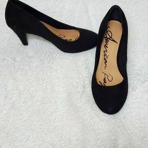 American Rag Faux Suede Upper Heel Shoe